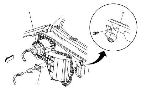 Chevrolet Malibu Blower Motor Resistor Location