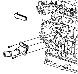 Chevrolet Trailblazer 2004 Chevy Trailblazer Thermostat Replacement on 2004 buick rainier engine diagram