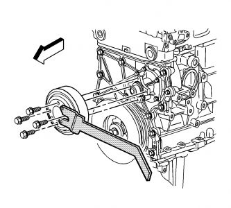 2002 Chevy Trailblazer Replace Water Pump: I Am An ...
