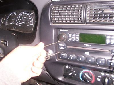 2003 Ford ranger stereo removal