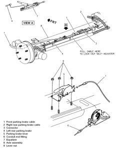 1998 chevy cavalier parking brake how do you adjust the parking Fail Chevy Cavalier 2carpros forum automotive pictures 103836 p brake 1 1