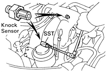 Toyota Pickup 1994 Toyota Pickup Knock Sensor Location