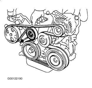 1999 Toyota Corolla 1999 Toyota Corolla Pulley on hyundai santa fe serpentine belt diagram