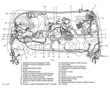 1997 ford f 250 diesel fuel system diagram 2006 ford f 250 diesel fuel filter location 1999 ford f250 diesel: my 7.3 diesel will start, and run ... #4