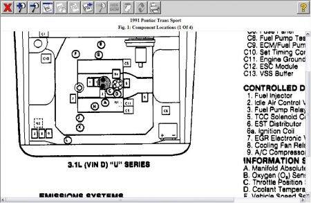 Wiring Diagram 1997 Pontiac Transport