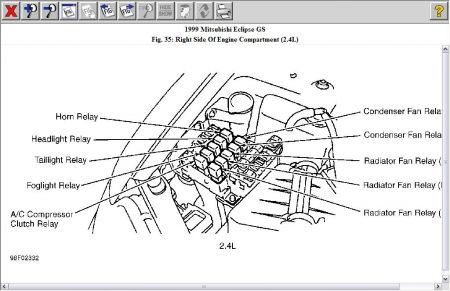 99 Honda Accord Headlight on 92 lincoln town car fuse box diagram
