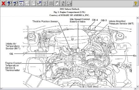 2003 subaru forester wiring diagram with 1996 Subaru Legacy Outback Engine Diagram on Vacuum Hose Diagram 2002 Subaru Wrx further Wiring Harness Subaru Outback further Subaru 2 5l Dohc Engine further 7 3 Sel Oil Pressure Location furthermore Subaru Forester Fuel Pump Location.