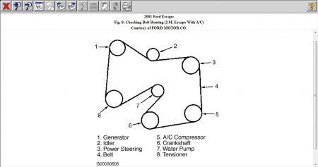 serpentine belt diagram xlt model how do i put the. Black Bedroom Furniture Sets. Home Design Ideas