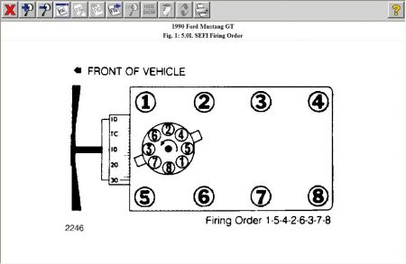 Ford 289 Firing Order Diagram