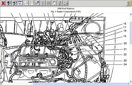 similiar 2003 ford windstar engine diagram keywords ford windstar radio wiring diagram likewise ford windstar fuse panel