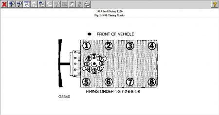 12900_351_1 1985 ford f250 spark plug diagram electrical problem 1985 ford spark plug wiring diagram on a ford 351w at bayanpartner.co