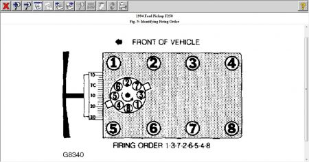 1994 Ford F250 1994 F250 Distributor Wiring Schematic 1994 Ford