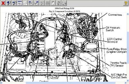 1994 Ford F150 EGR Valve: Engine Mechanical Problem 1994 ...