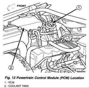 Kia 3 8l Engine Diagram moreover Discussion T3983 ds688452 also 2002 Jeep Liberty Wiring Diagrams Online further Dodge Body Control Module Location 1996 Neon moreover Dodge 4 7l Engine Diagram. on 2005 jeep liberty pcm location