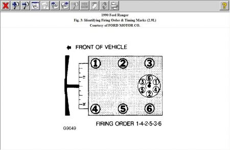 Ranger Firing Order on 1994 Ford Ranger Engine Diagram