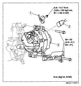2004 mazda 6 alternator  my alternator recently went out