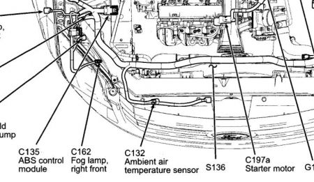 Ford Fusion 2007 Ford Fusion Ambient Air Temperature Sensor Location