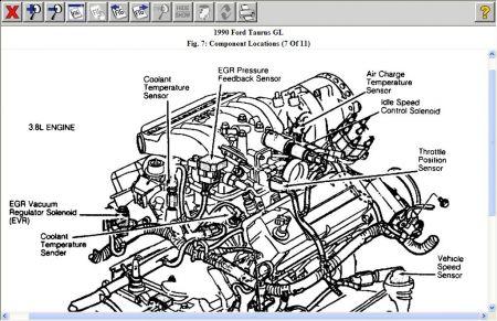 2001 ford taurus engine diagram intake wiring diagram \u2022 2001 ford taurus engine diagram firing 1990 ford taurus air charge temperature sensor computer problem rh 2carpros com 2001 taurus wiring diagram 2001 ford taurus parts