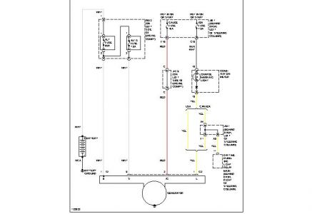 1999 toyota tacoma alternator and wiring electrical problem 1999