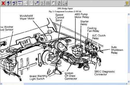 12900_asd_1 1991 dodge spirit fuel pump electrical problem 1991 dodge spirit 1991 dodge dakota fuse box diagram at gsmportal.co