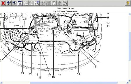 Lexus Es 300 1999 Lexus Es 300 Emissions on e300 wiring diagram