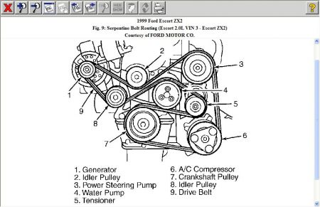 1999 Ford Escort Alternator Wiring Diagram on wiring diagram for 1993 ford probe