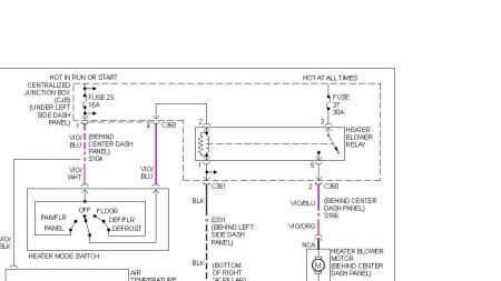 12900_blower1_1 1999 mercury mystique no blower fan heater problem 1999 mercury 95 mercury mystique 2.0 wiring diagram at fashall.co