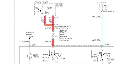 1997 mercury cougar wiring diagram wiring data