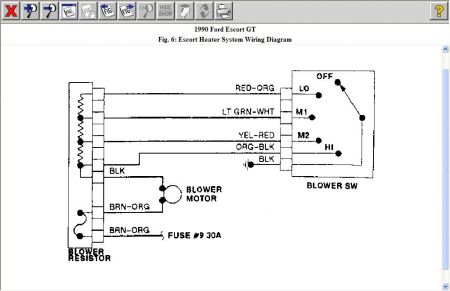 blower motor resistor wiring diagram blower motor resistor diagram 1990 ford escort blower motor: 1990 ford escort 4 cyl ...