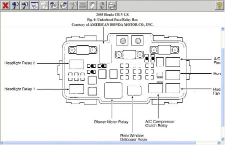 12900_blower_relay_3 2001 honda crv fan does not work air conditioning problem 2001 2001 honda crv fuse box diagram at crackthecode.co