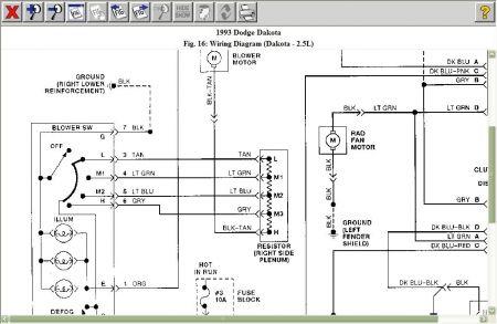 dodge dakota blower motor wiring diagram on dodge dakota transmission wiring  diagram, 1969 dodge charger