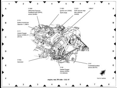 242679 Urgent Help Please Cant Find Engine Speed Sensor further Ford Taurus 2003 Ford Taurus 107 moreover Post auto Ac  ponent Diagram 289043 moreover Ford F150 How To Replace Your Water Pump 360074 further 74593 Mazda 3 03 Mazda Transmission No 2nd Code P0757. on ford fusion