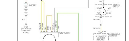 Alternator Wiring Diagram Changed Fuse J10 P25 As Suggested No