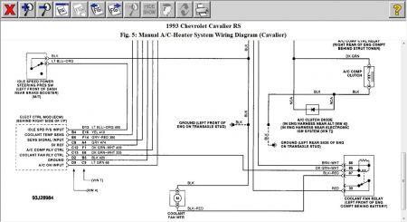 1993 chevy cavalier fan motor not running my fan motor will not Chevy 2500Hd Wiring Diagram www 2carpros com forum automotive_pictures 12900_c3_14
