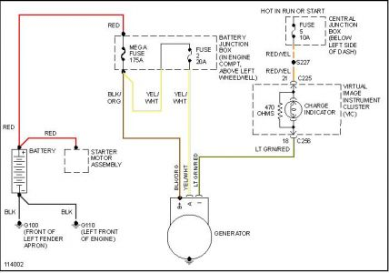 lincoln alternator wiring diagram 1999 lincoln continental battery won't hold charge: i have ...