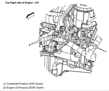 2004 chevy malibu crank sensor where is the crank sensor on a 2 2 2013 Malibu Parts Diagram 1 reply