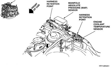 Cadillac Northstar Coolant Temperature Sensor Location