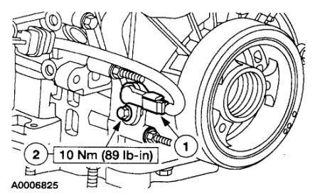 T2585436 Crank senser located engine additionally E150 Crankshaft Position Sensor Location further 1997 Chrysler Cirrus Fuse Box likewise Where is the oil pressure switch located in a GMC Truck 2004 together with Ford Ranger 1997 Ford Ranger Eec And Crank Sensor. on crank sensor problems