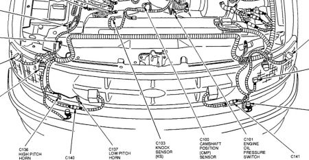1998 Ford F-150 Camshaft Position Sensor: I Can Not Find My