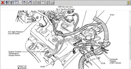 Chevy Astro Van Engine Diagram 2001 O2 Sensor