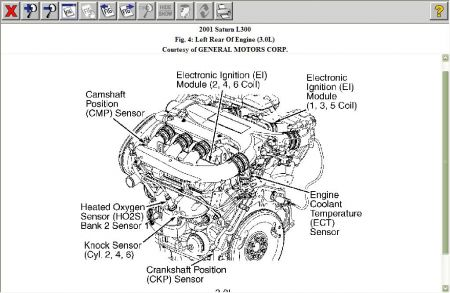 How Do I Identify My Chevrolet Engine Ask  Answers on saturn vue 2004 6 cylinder engine diagram