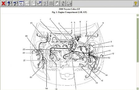 2003 subaru legacy air conditioning diagram