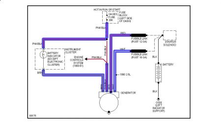 12900_charge_9 chevy astro van alternator wiring diagram great installation of