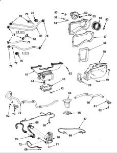 Vw Tdi Motor also Trico Wiper Motor Wiring Diagram together with 68 Mustang Heater Diagram besides Other Gm Parts additionally Chevrolet S 10 1988 Chevy S 10 How To Install Heater Core. on 55 chevy heater core