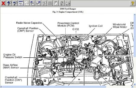 Ford Ranger 2000 Ford Ranger Camshaft Position Sensor on in a new light wiring diagram