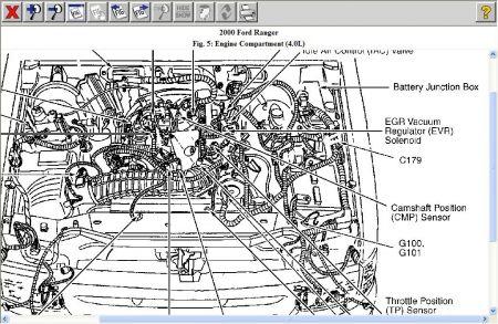 2000 ford ranger camshaft position sensor electrical. Black Bedroom Furniture Sets. Home Design Ideas