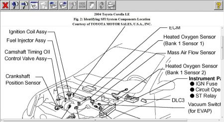 2005 lincoln ls o2 sensor wiring diagram for car engine lincoln ls crankshaft sensor location moreover 2001 toyota corolla starter location in addition 2000 silverado fuse