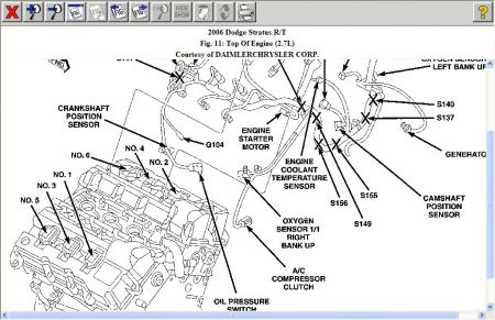 2006 dodge stratus 2 7 engine diagram 2006 dodge stratus crank shaft postion sensor: engine ...