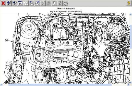 1994 ford tempo electric fan wont strart i am having. Black Bedroom Furniture Sets. Home Design Ideas