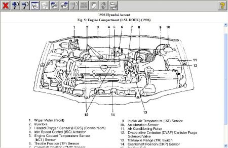 2001 hyundai sonata wiring diagram with Hyundai Accent 1996 Hyundai Accent Temperature Gauge on Engine Diagram 2001 Hyundai Santa Fe And Belts also Bmw I E Fuse Diagram Wiring Diagrams For Subwoofers To Box Free Schematic Smart Vehicle Awesome 1999 323i as well Hyundai Accent 2001 Hyundai Accent Spark Plug Wire Diagram And Coil Firing moreover Pontiac Grand Am 3100 Sfi V6 Engine Diagram as well Discussion T32177 ds605204.